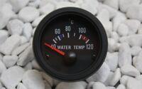 WASSERTEMPERATURANZEIGE INSTRUMENT WATER TEMPERATURE GAUGE SCHWARZ BLACK +SENDER
