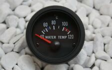 MANOMETRE DE TEMPERATURE D'eau Instrument Eau indicateur température noir +