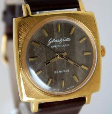Superb GERMAN GUB GLASHÜTTE Spezimatic Caliber 74 Legendary WRIST WATCH 70s