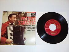 """FRANKIE YANKOVIC Just Another Polka EP 7"""" 45 Columbia B-2622 Extended Play"""