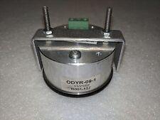 "Dakota Digital 2-1/16"" Round Vacuum Boost Gauge Teal Display ODYR-09-1"