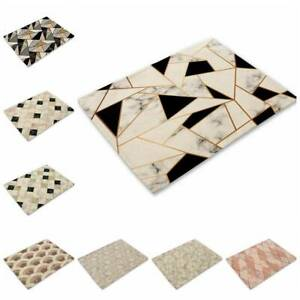 Geometric Pattern Placemat Cotton Linen Home Dining Kitchen Cup Pad Table Mat