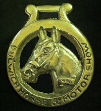 DULWICH Horse and Motor Show Modern Horse Harness Brass 1996 from England Rare!