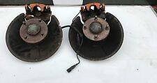 FORD FOCUS MK1 ST170 REAR BRAKE CALLIPERS CARRIERS & HUBS ABS 2002-2005 TPM192