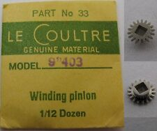 LeCoultre 403 new part winding pinion (backwind)