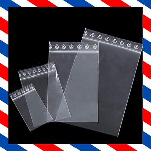 Lot Pochon Plastique Sachet Transparent Petite Pochette Fermeture Pression Zip