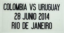 "Match Date of Colombia vs URUGUAY ""World Cup 2014"" at Colombia Home"