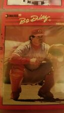 Bo Diaz Cincinnati Reds Donruss 1990 Leaf Cards Ungraded