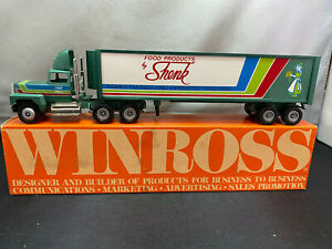 Winross Shenk Cheese Co Food Products Tractor Truck & Trailer 1/64 Diecast