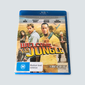 Welcome to the Jungle Blu-ray - Region B/AUS/GC/Tested//Free Postage 🐙