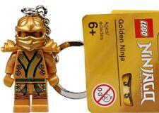 Lego Ninjago Gold 850622 Goldener Ninja Schlüsselanhänger Keyring Keychain