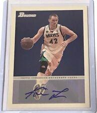 2009-10 Kevin Love Bowman 48 Autographs Minnesota Timberwolves #48A-KL