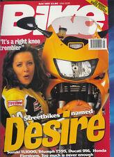 Bike May 1997  TL1000S Ducati 916 VTR1000 Firestorm T595 Bimota Mantra Buell M2