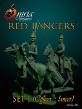Oniria Miniatures #ONI-NPV8 Red Lancers (Set I)