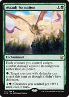 ASSAULT FORMATION Dragons of Tarkir MTG Green Enchantment Rare
