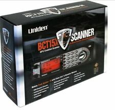 Uniden BCT15X Mobile Trunking Police Scanner Trunktracker III GPS Bearcat New