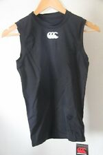 Original Maillot Débardeur Rugby CANTERBURY base layer  noir taille L neuf