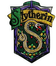 Harry Potter Slytherin Wizzard Embroidered Iron Patches