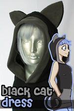 Black Cat Dress, Hoodie, New, Kigurumi, Cosplay, Costume