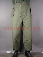 WWII German Luftwaffe Fallschirmjager Plain Green Winter Reversible Trousers XL