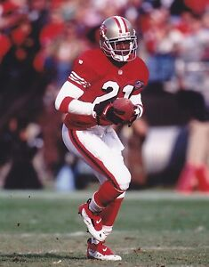 DEION SANDERS 8X10 PHOTO SAN FRANCISCO FORTY NINERS 49ers NFL FOOTBALL