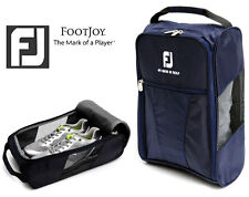 Genuine FOOTJOY Golf Shoes Bag Zipped Sports Bag Shoe Case (Navy Color x 1pcs)