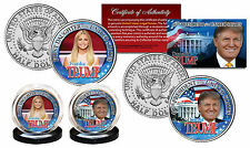 DONALD & IVANKA TRUMP 45th President / First Daughter JFK Kennedy US 2-Coin Set