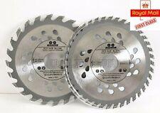 115 / 125 / 160mm Circular Saw Plunge Saw Blade Wood Plastic 24 / 40 / 60 TCT