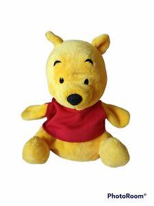 Tokyo Disney Resort Winnie The Pooh Bear Hand Puppet Plush Stuffed Animal Small