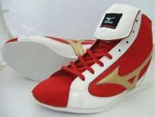 Boxing Shoes Ef-S Original color Red x white X gold 36Kq10000 Mizuno Japan