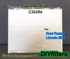 C36286 PREMIUM CABIN AIR FILTER for 2013-2017 FORD FUSION 2013-2017 LINCOLN MKZ