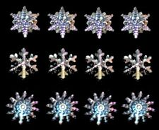 Jesse James - Dress It Up Buttons ~ Crystal Snowflakes 2079 ~ Crafts