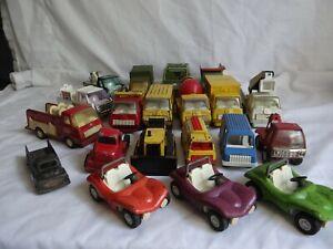 19 Vintage die cast metal trucks Tonka Tootsie Toy Buddy L