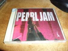 PEARL JAM -TEN- VERY RARE ORIGINAL 1991 JAPAN PRESS WITH BONUS TRACK NEAR MINT