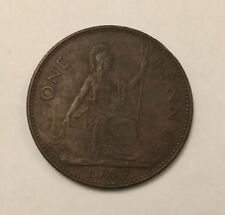 1967 One Penny Coin