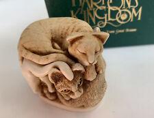 1994 Harmony Kingdom Purrfect Friends Cats Treasure Jests