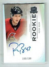 09-10 UD The Cup  Peter Regin  /199  Auto  Rookie