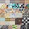 DIY Self Adhesive Mosaic Tile Wall Sticker Waterproof Home Kitchen Decals Decor