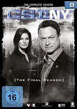 6 DVDs * CSI : NY - NEW YORK - FINALE STAFFEL / SEASON 9  # NEU OVP §