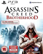 ASSASSINS CREED Brotherhood - Da Vinci Edition | PS3 | NEU&OVP | USK18
