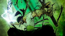 """091 One Piece - OP Zoro Luffy Fighting Hot Japan Anime 24""""x14"""" Poster"""