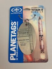 Titan II Missile Skin- Plane Tag / Planetags - Free Shipping - Rare!