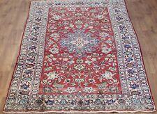 Persian Traditional Vintage Wool 267cmX 140cm Oriental Rug Handmade Carpet Rugs
