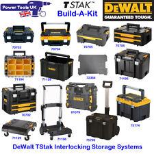 DeWALT DWST1-71195SP TStak Empty Plastic Case WITHOUT Tote Tray