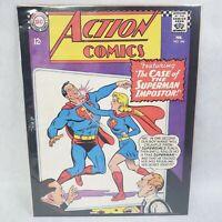 "ACTION COMICS #346 1967 SUPERMAN VINTAGE DC COMICS SERIES 11""X14"" POSTER"