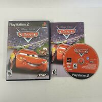 Disney Pixar Cars (Sony PlayStation 2, 2006) Complete Ps2 Fast Shipping