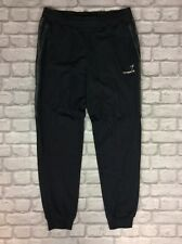 EMPORIO ARMANI EA7 MENS UK XL BLACK TAPE JOGGERS JOGGING SWEATPANTS LIGHTWEIGHT