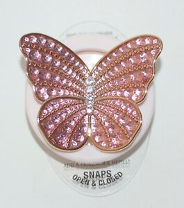 BATH & BODY WORKS PINK BUTTERFLY SCENTPORTABLE HOLDER VISOR CLIP CAR FRESHENER