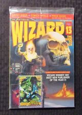 1992 WIZARD Comics Magazine #13 SEALED w/ Promo Card - Ghost Rider Cover