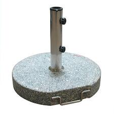 Sonnenschirmständer Ø 45 cm rund granit/grau Schirmständer Sonnenschirm-Ständer